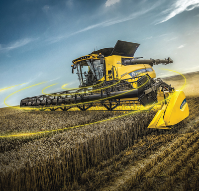 New Holland combine with IntelliSense